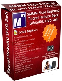 SMMM Ticaret Hukuku Staja Başlama Görsel Eğitim Seti