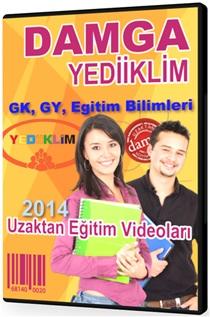 Damga & Yediiklim - KPSS - GK - GY - Eğitim Bilimleri