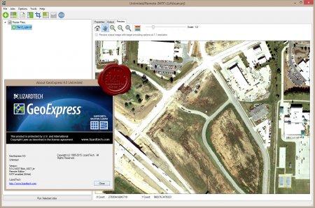 LizardTech GeoExpress Unlimited v9.5.2.4437