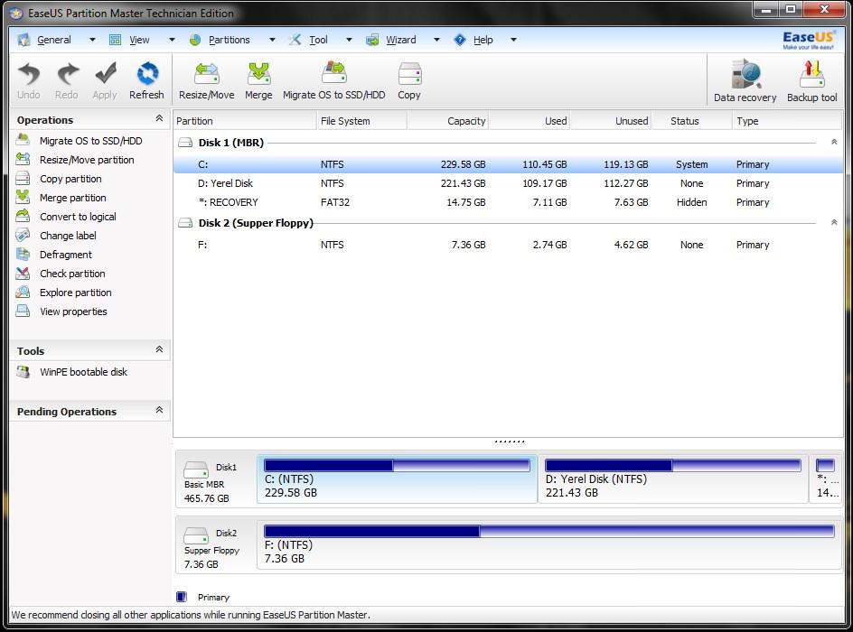 Download free software Easeus Partition Master Home Edition Torrents - blackhammer