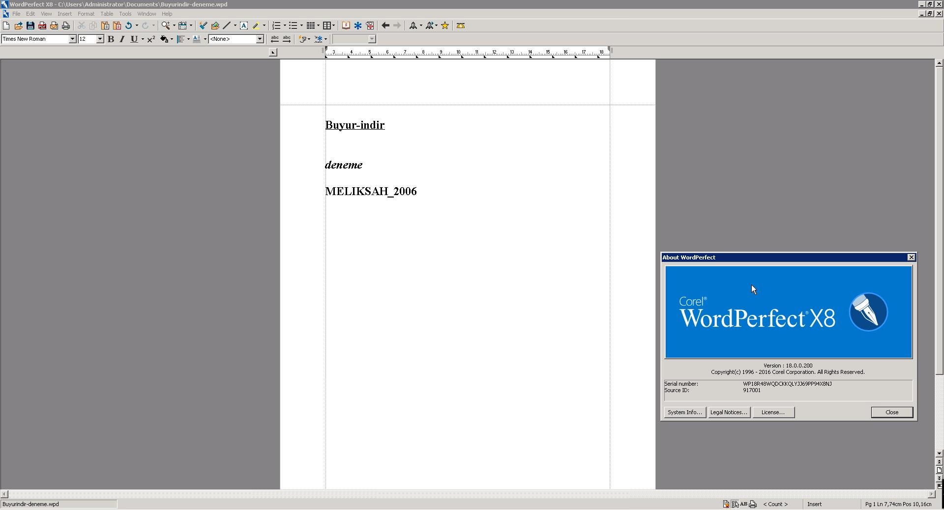 Keygen corel wordperfect office x4