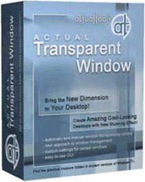 Actual Transparent Window v8.7