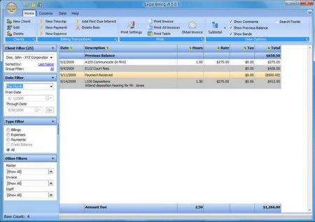 Chaos Software Legal Billing v10.1.0.0