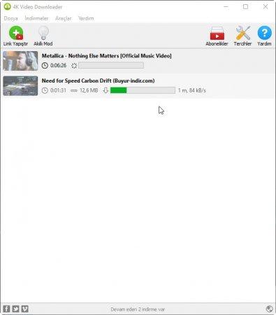 4K Video Downloader v4.4.6.2295 Türkçe