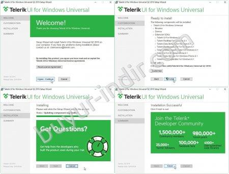 Telerik UI for Windows Universal v2016.2.504.2