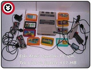 Nostalji Atari Oyun Paketi indir