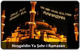 Hoş Geldin 11 Ayın Sultanı Ramazan