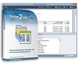 Folder2List v3.8.1