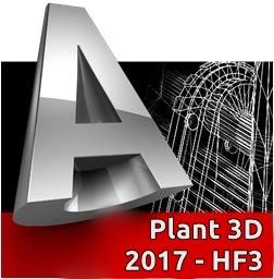 Autodesk AutoCAD Plant 3D 2017 HF3