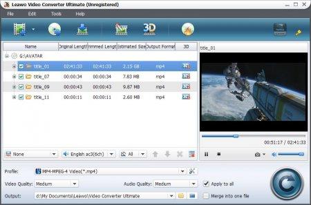 Leawo Video Converter Ultimate v7.5.0.0