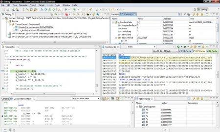 Code Composer Studio v6.0.1.00040