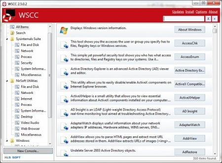 Windows System Control Center v3.1.0.0