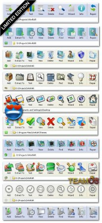 80 Adet WinRAR Teması