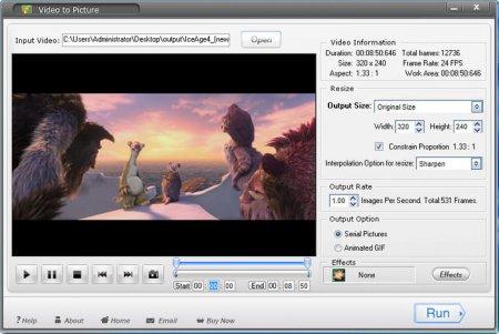 Aoao Video to Picture Converter v4.2