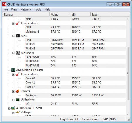 CPUID HWMonitor Pro v1.23