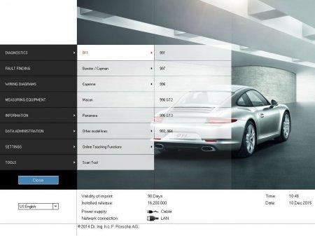 Porsche PIWIS II v17.100 Update DVD