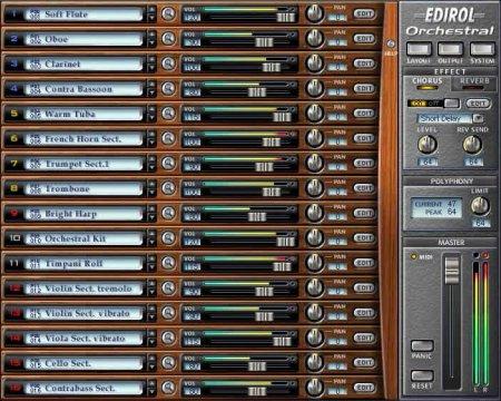 EDIROL Orchestral v1.0.3