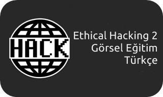 Ethical Hacking (Güvenlik) 2 Görsel Eğitim Seti