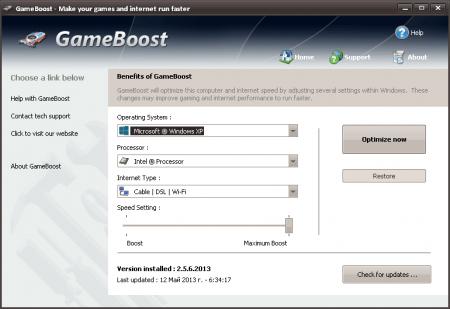 PGWare GameBoost v3.6.27.2016