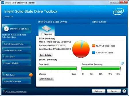 Intel SSD Toolbox v3.3.6