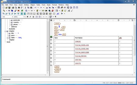 Arbortext Editor v7.0 M030