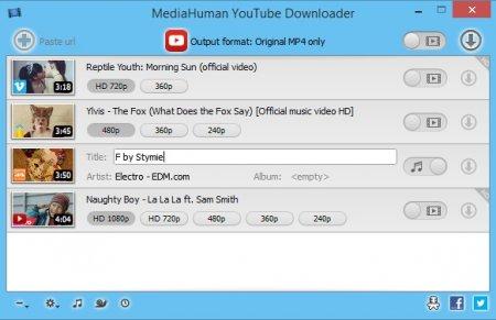 MediaHuman YouTube Downloader v3.9.80707