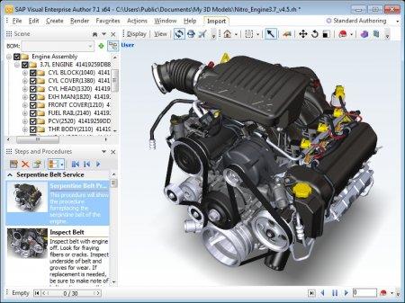 SAP 3D Visual Enterprise Author v8.0 SP5 MP1