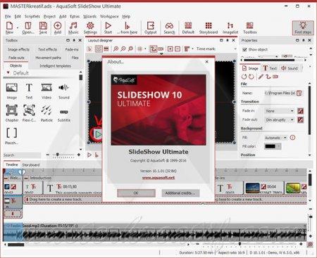 AquaSoft SlideShow 10 Ultimate v10.5.01