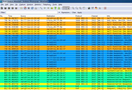 Wireshark v2.0.5