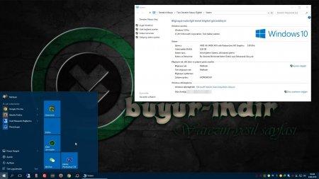 Windows 10 Home - Pro Türkçe MSDN (Redstone 1)