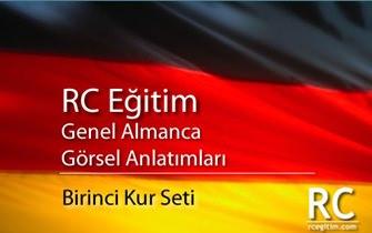 RC Eğitim Genel Almanca Görsel Anlatımları 1. Kur Seti