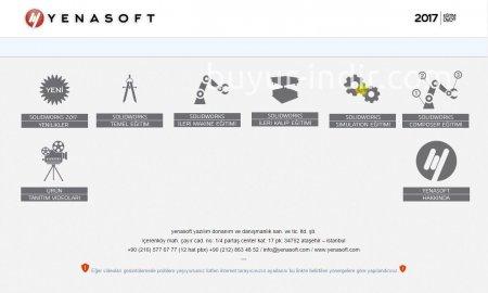 SolidWorks 2017 Türkçe Görsel Eğitim Seti (Yenasoft)