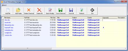 FMS Excel Metadata Changer v2.7.3