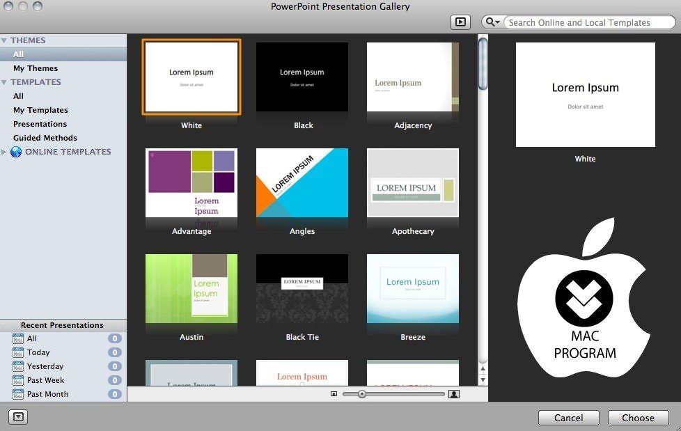 Free Mac Powerpoint Templates