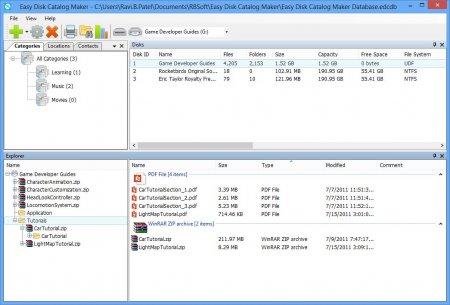 Easy Disk Catalog Maker v1.2.11.0