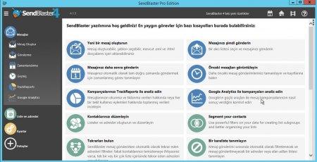 SendBlaster Pro v4.1.3 Türkçe