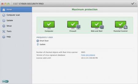 ESET Cyber Security Pro v6.4.200.1 Mac OS X