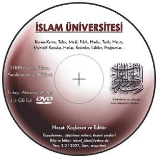 İslam Üniversitesi DVD Eğitim İçeriği