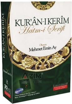 Mehmet Emin Ay (Cüzler) - Kur'an Hatmi