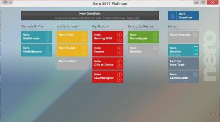 Nero Platinum 2017 v18.0.08500 Türkçe