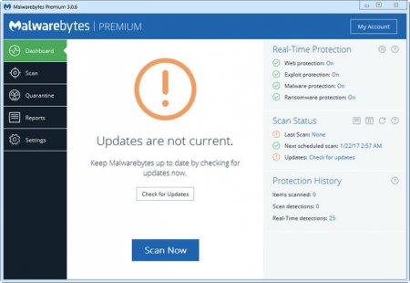 Malwarebytes Premium v3.1.2.1733