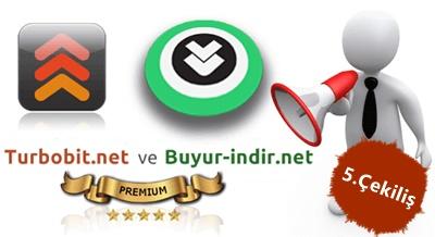 5. Geleneksel Turbobit Premium Çekilişi