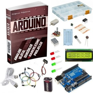Arduino Türkçe Görsel Eğitim Seti + Projeler