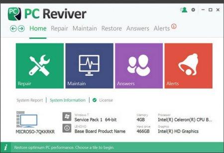 ReviverSoft PC Reviver v3.2.0.16