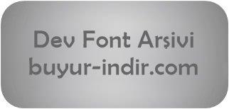 21.329 Adet Font Arşivi | Dev Yazı Tipi Paketi