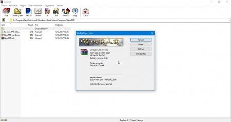 WinRAR v5.50 Türkçe