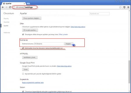 Web Tarayıcısını Windows Gezgini Şeklinde Kullanma