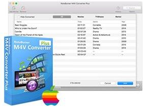 NoteBurner M4V Converter Plus v5.4.1