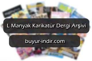 L Manyak Karikatür Dergisi Arşivi