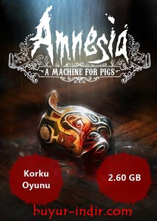 Amnesia: A Machine for Pigs Türkçe Full